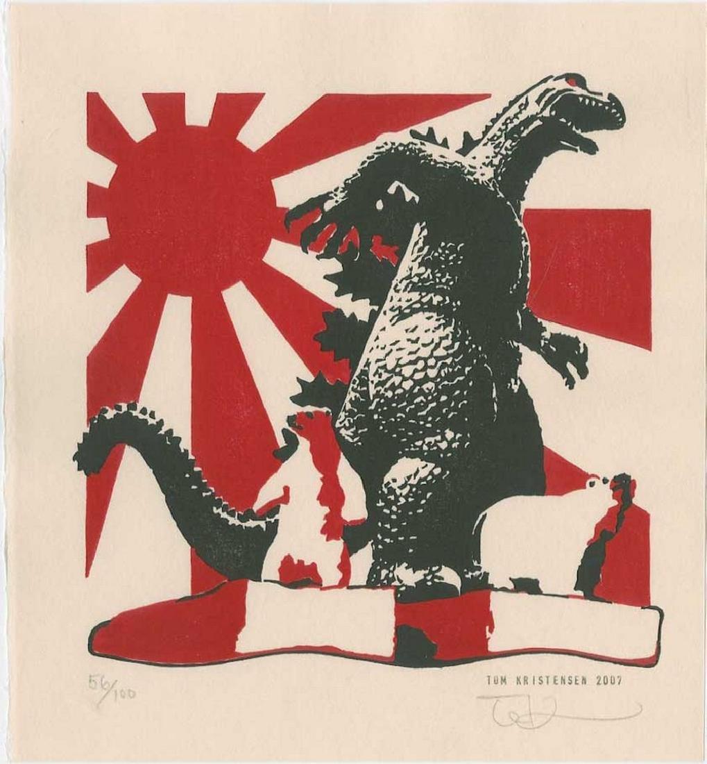 Tom Kirstensen -- Godzilla and Polar Bears (#56/100)