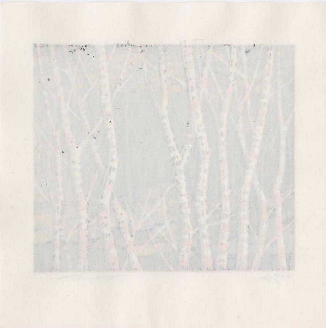 Fujita Fumio: Autumn Woodblock - 2