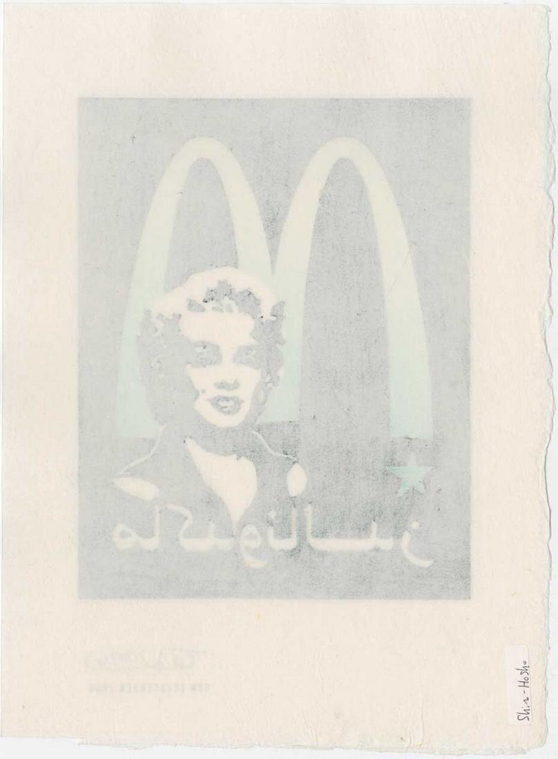 Tom Kristensen - M is for Marilyn (#28/30) Woodblock - 2