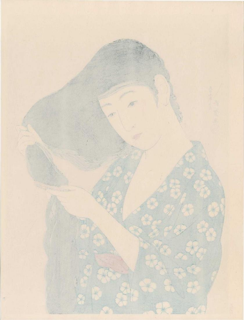 Goyo Hashiguchi: Combing Hair Woodlock - 3