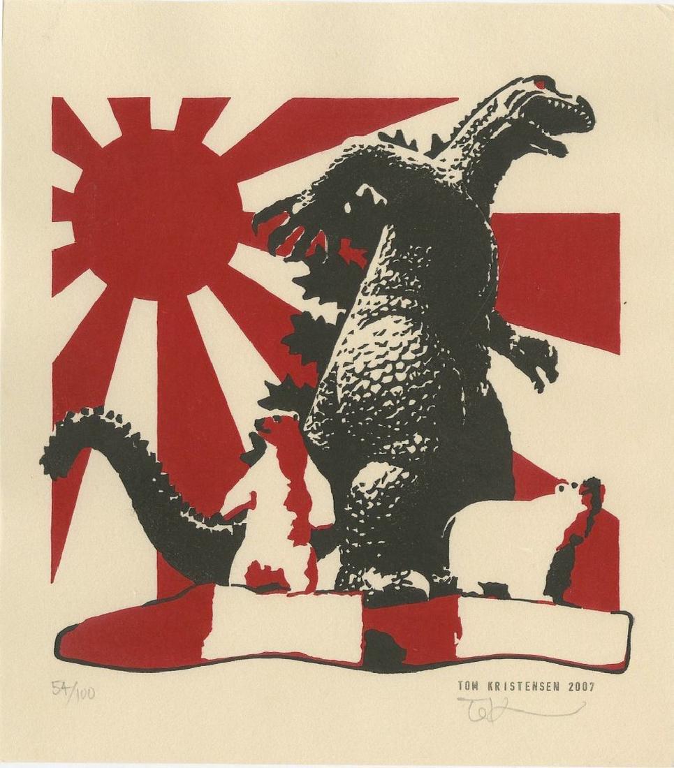 Tom Kristensed -- Godzilla and Polar Bears (#54/100)