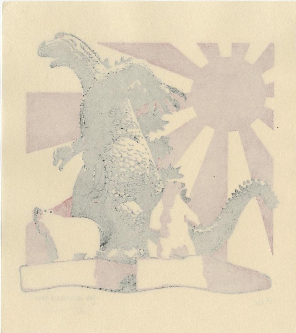 Tom Kristensed -- Godzilla and Polar Bears (#54/100) - 2