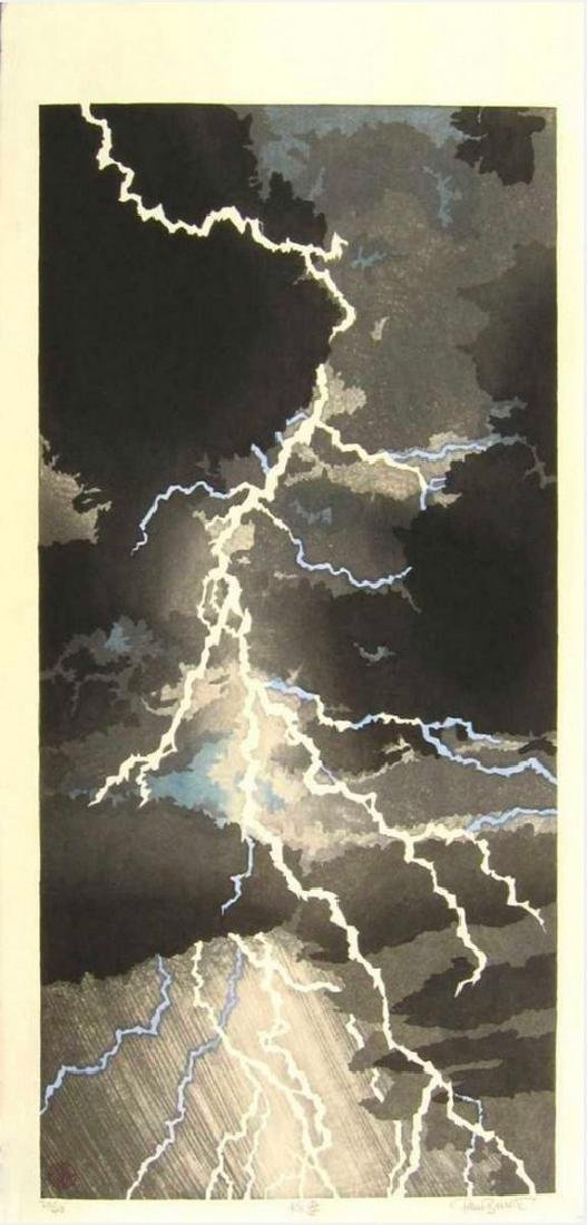 Paul Binnie - Lightning Woodblock
