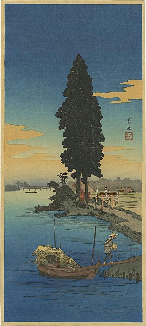 Shotei Takahashi (Hiroaki): Katsushika Woodblock 1932