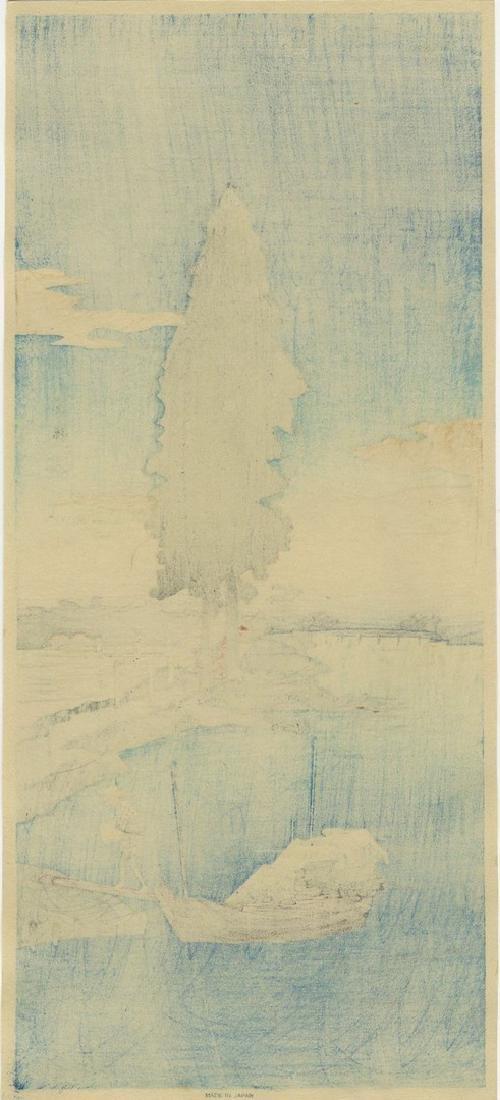 Shotei Takahashi (Hiroaki): Katsushika Woodblock 1932 - 2