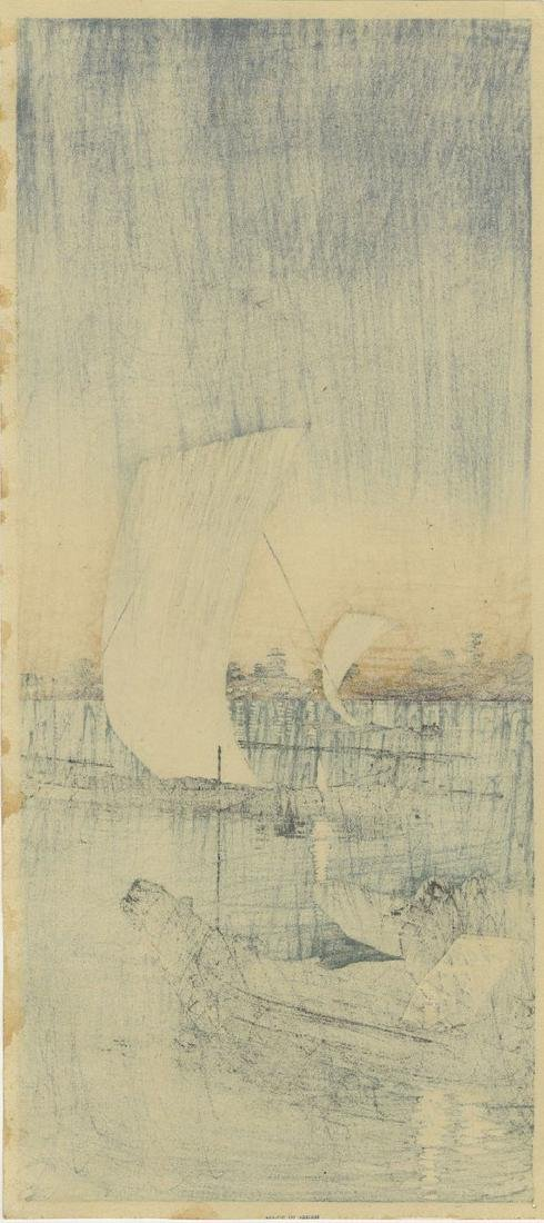 Shotei Takahashi (Hiroaki): Sekiyado Woodblock 1932 - 2