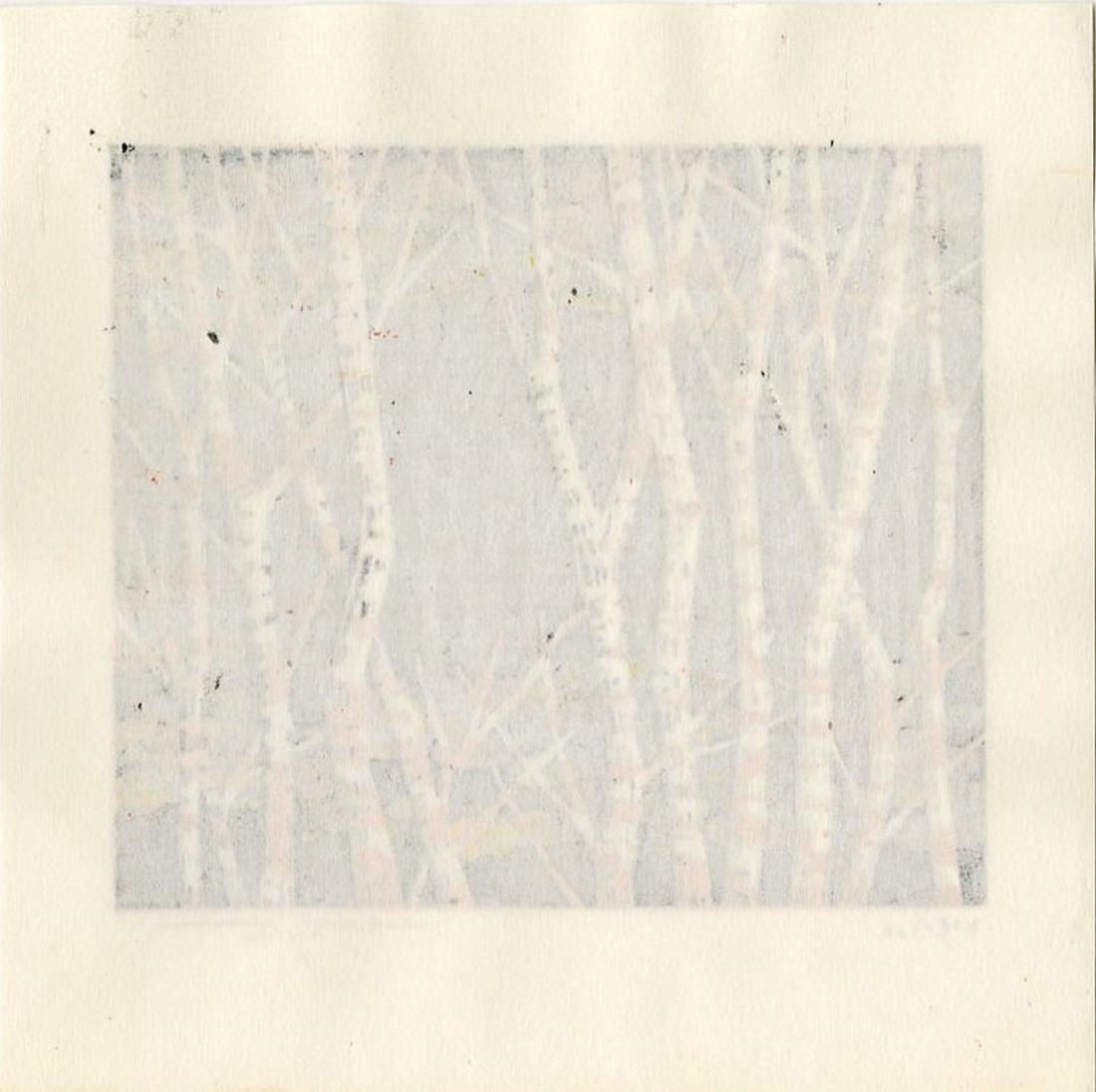 Fumio Fujita: Autumn Woodblock 1st Edition - 2