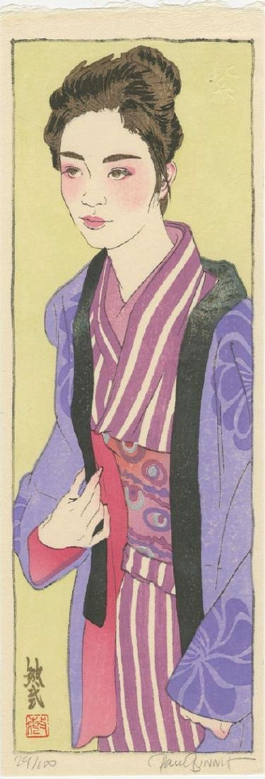 Paul Binnie - Murasaki (Purple) (#29/100) Woodblock