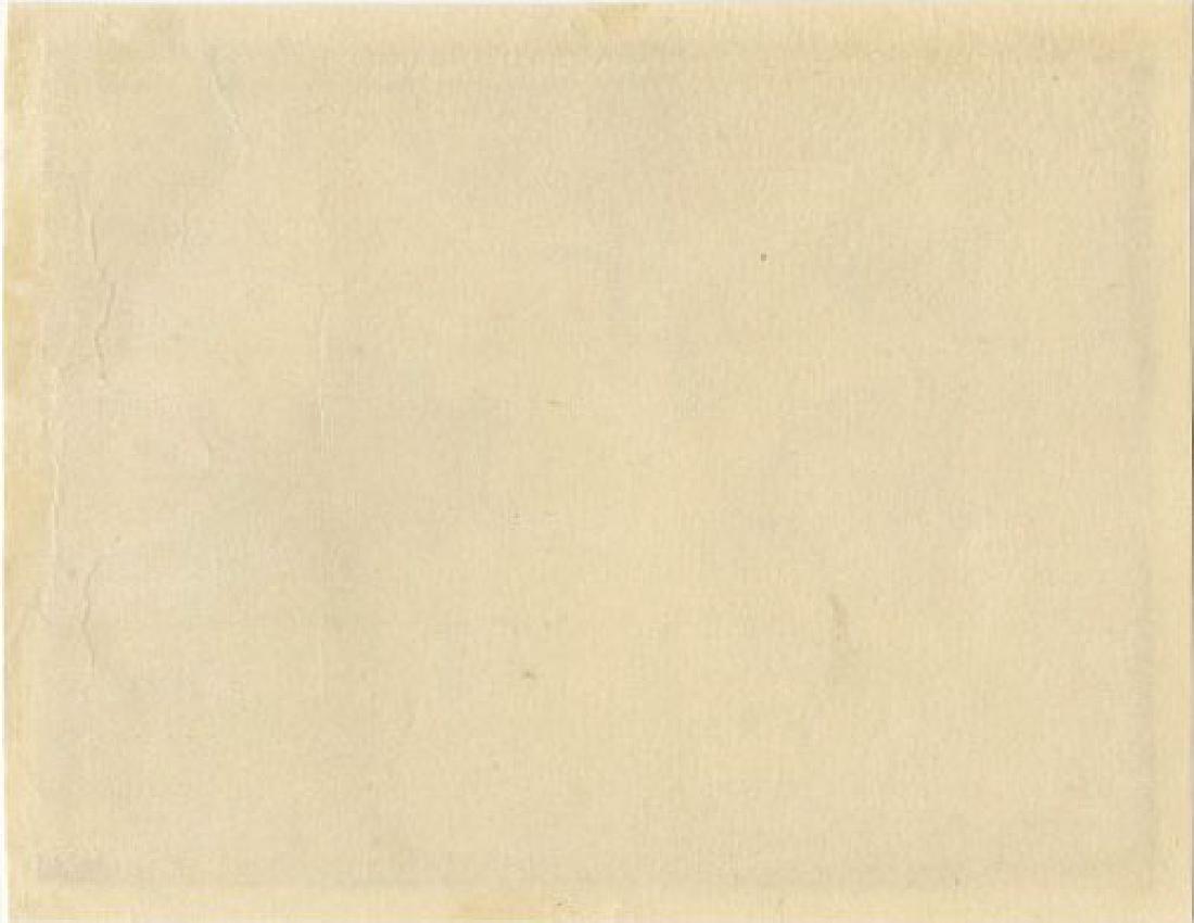Utagawa School - 1830's original shunga woodblock F - 2