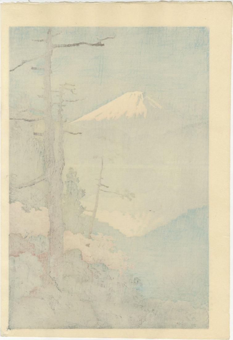 Ito Yuhan - Fuji from Taganoura woodblock - 2