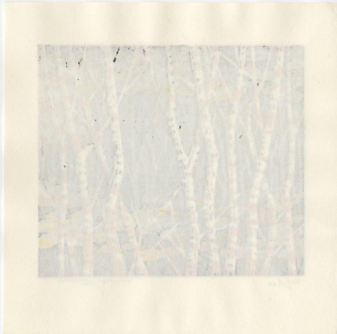 Fujita Fumio: Autumn woodblock 1st Ed. 1990 - 2