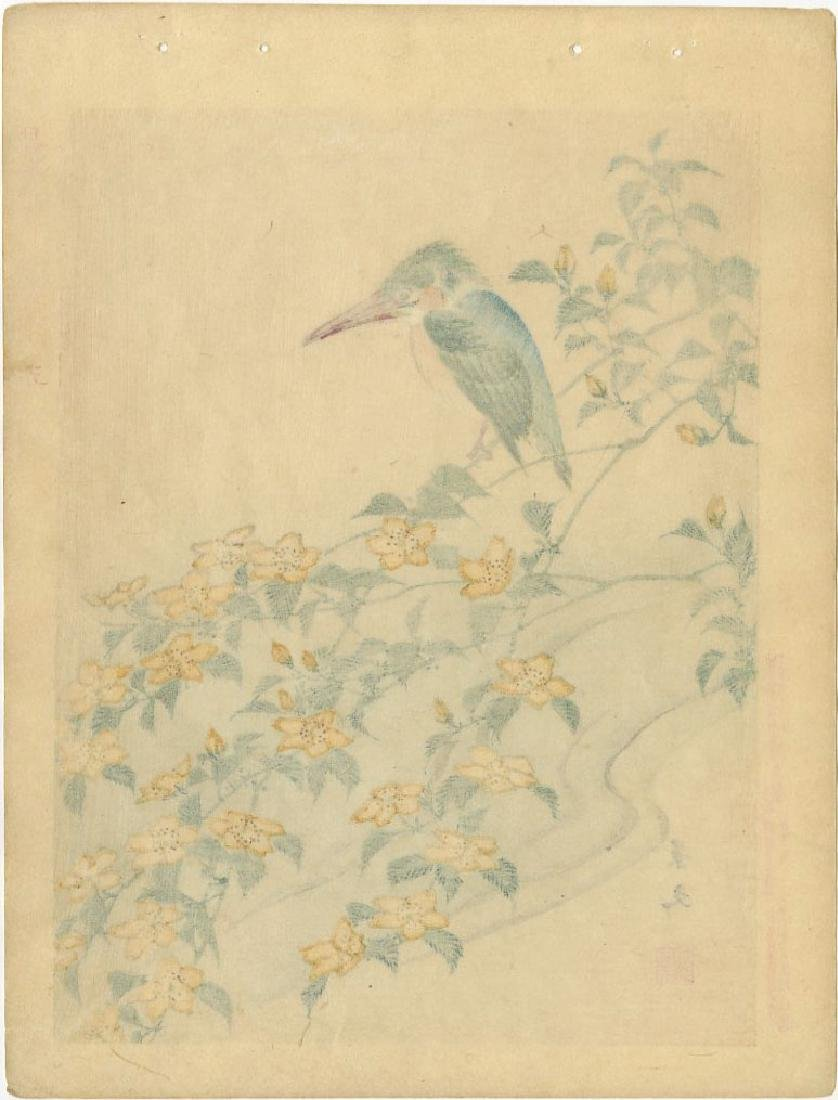 Keibun Matsumura: Kingfisher Woodblock 1894 - 2