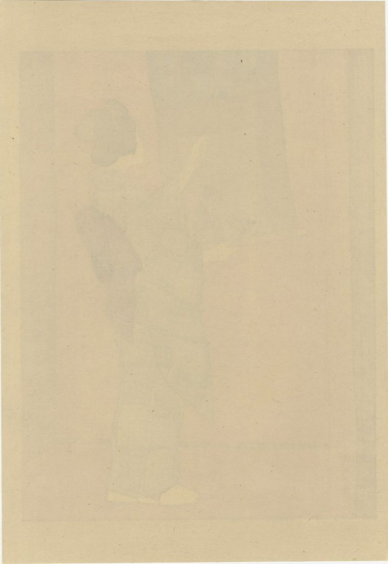 Charles Hovey Pepper: Woman Hanging Scroll 1903 1st Ed. - 2