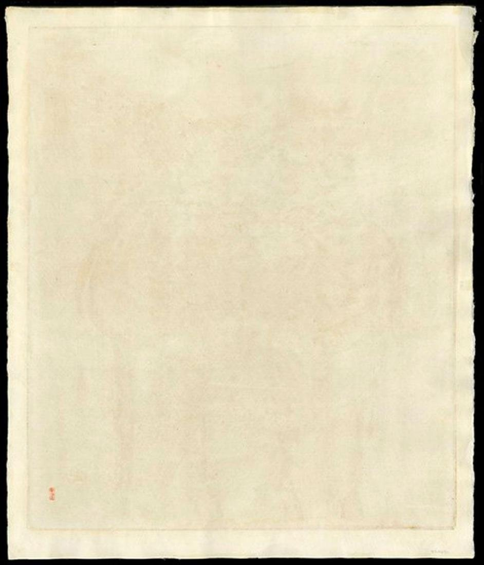 Nakayama Tadashi: Eastern Wind woodblock AP Ed. 1959 - 2
