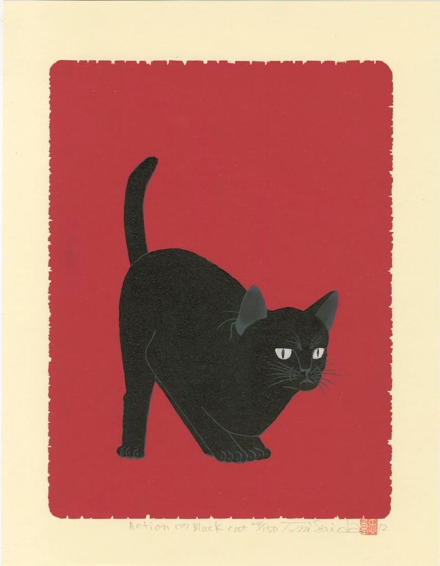 Nishida Tadashige - Action 7 Black Cat #24/150