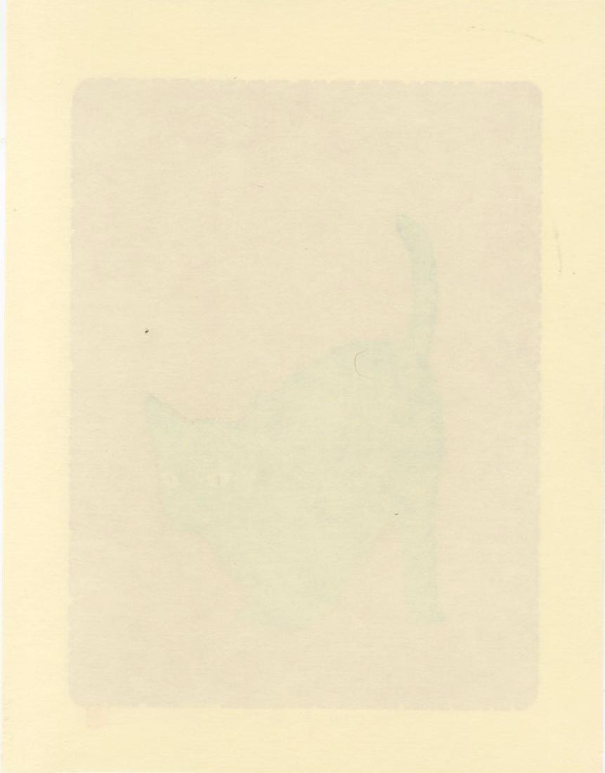 Nishida Tadashige - Action 7 Black Cat #24/150 - 2