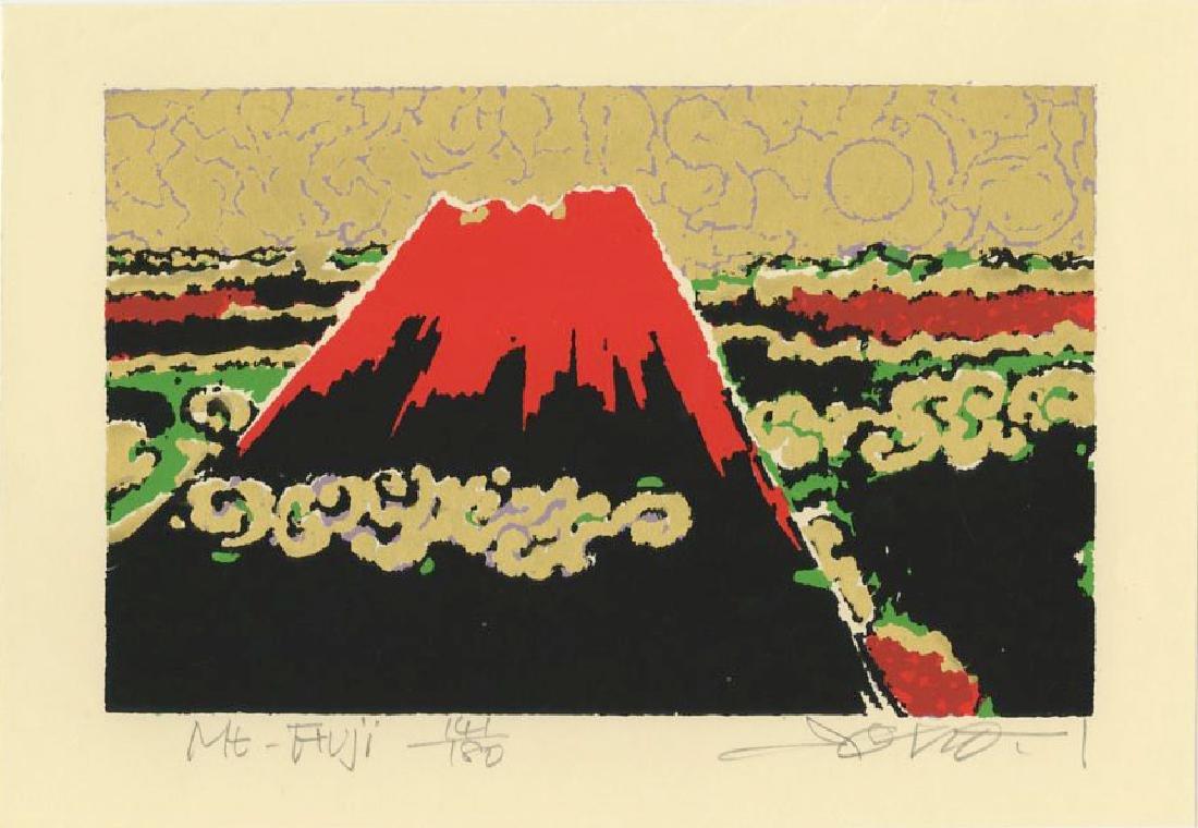 Ikegami Soho - Mt Fuji #141/180 woodblock