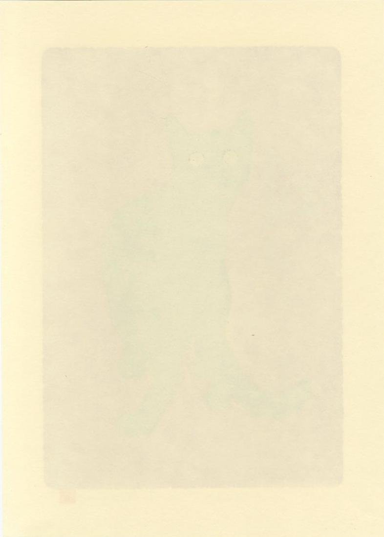 Nishida Tadashige - Looking Back #112/150 woodblock - 2