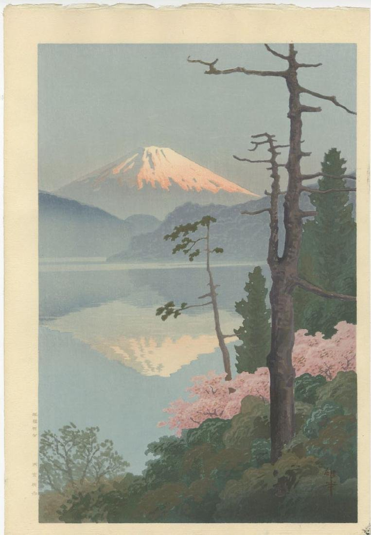 Ito Yuhan - Fuji from Tagonoura 1930 woodblock