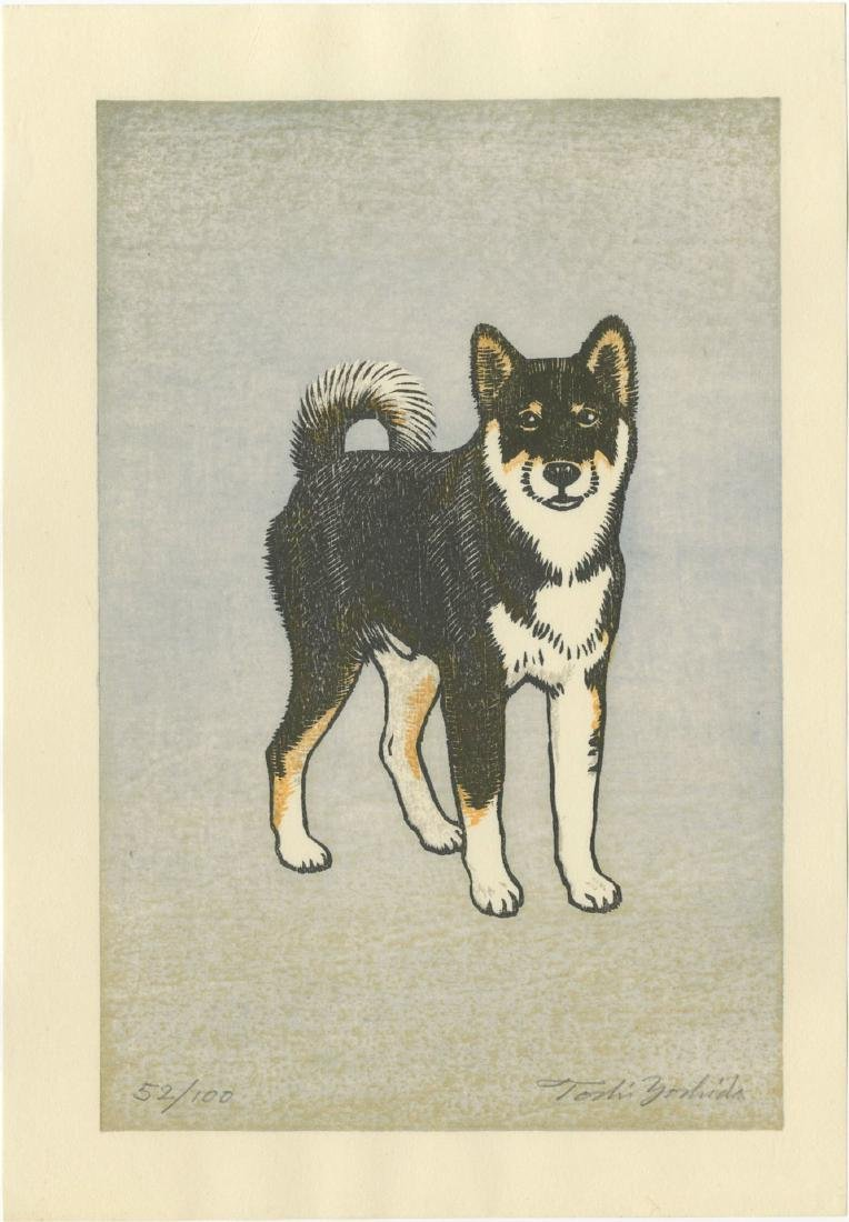 Toshi Yoshida - Monjiro Shiba Dog #52/100 1981 Sold Out