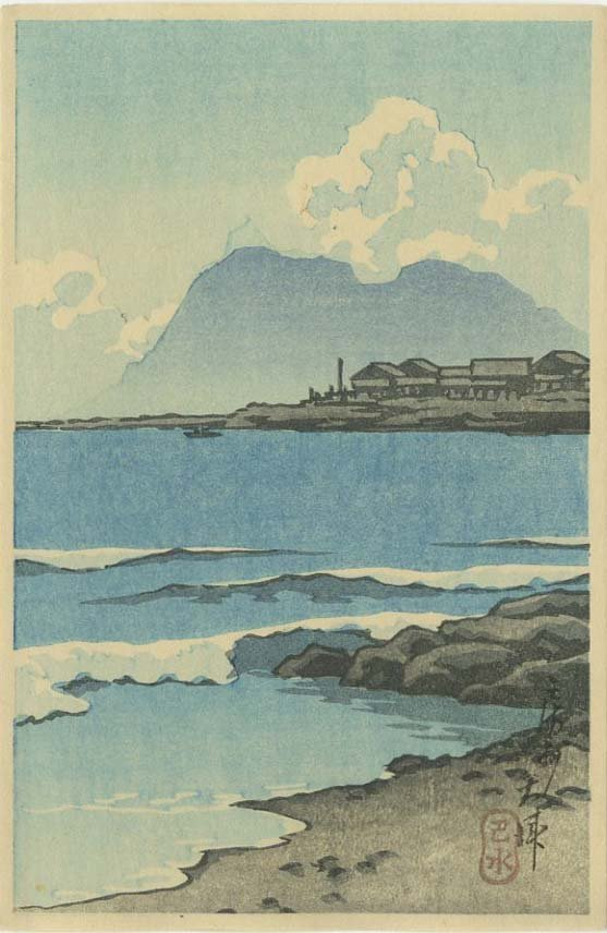 Hasui Kawase: Otsu Boshu c.1930 Woodblock