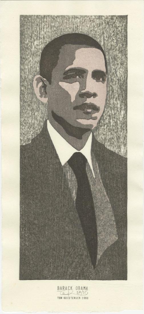 Tom Kristensen - Barack Obama #24/35 Limited Ed