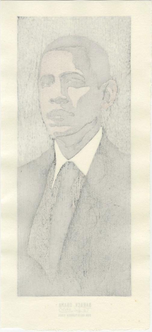 Tom Kristensen - Barack Obama #24/35 Limited Ed - 2