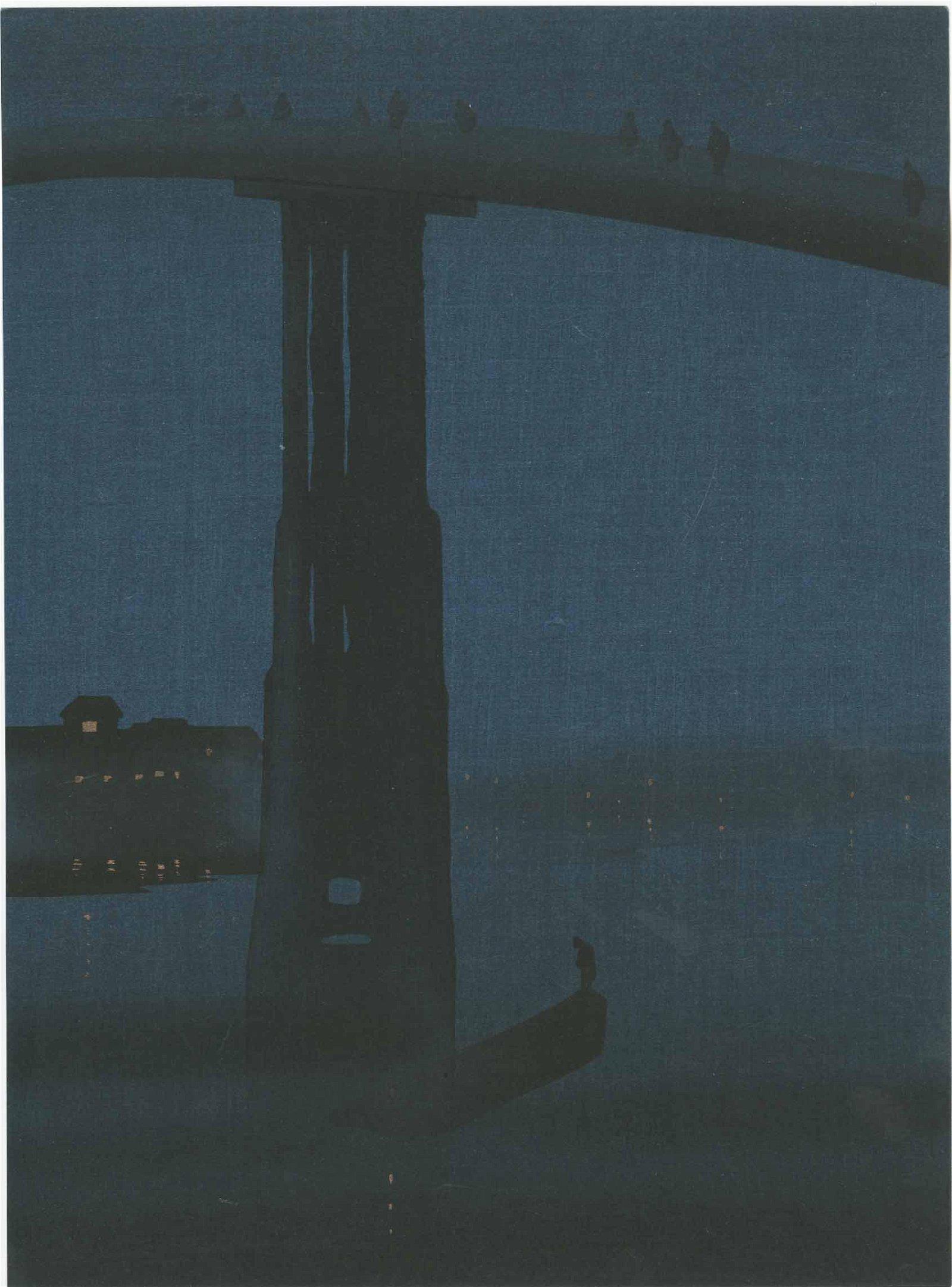 Eijiro Kobayashi - High Bridge by Night MULLER RARE