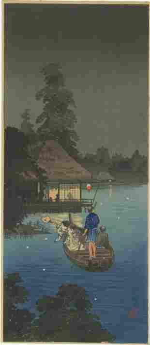 Shotei Takahashi - Hunting Fireflies Cool Breeze 1936