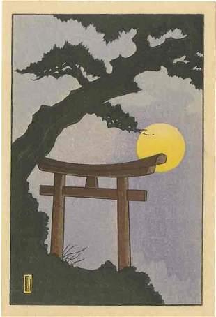 Lilian May Miller: Little Shrine in Moonlight 1927