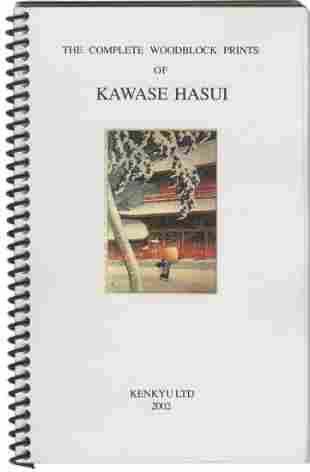 Hasui Kawase - Complete Woodblock Prints Reference Book