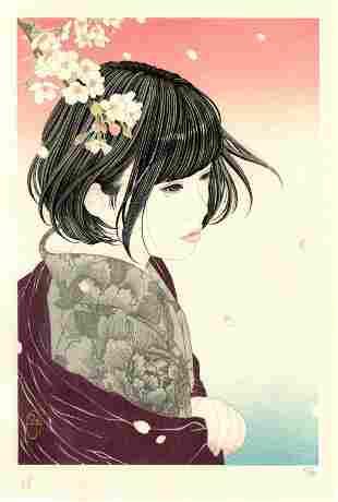 Yu Miyazaki: Full Bloom 2018 1st Ed Woodblock