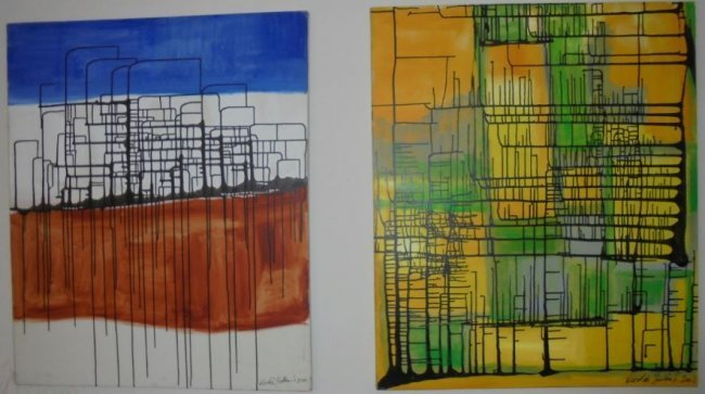 ORIGINAL PAINT THE BEGINING I & II BY NICOLAS GUILLEN