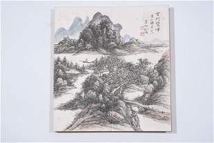 Huang Binhong: color and ink on paper twelve leaf album