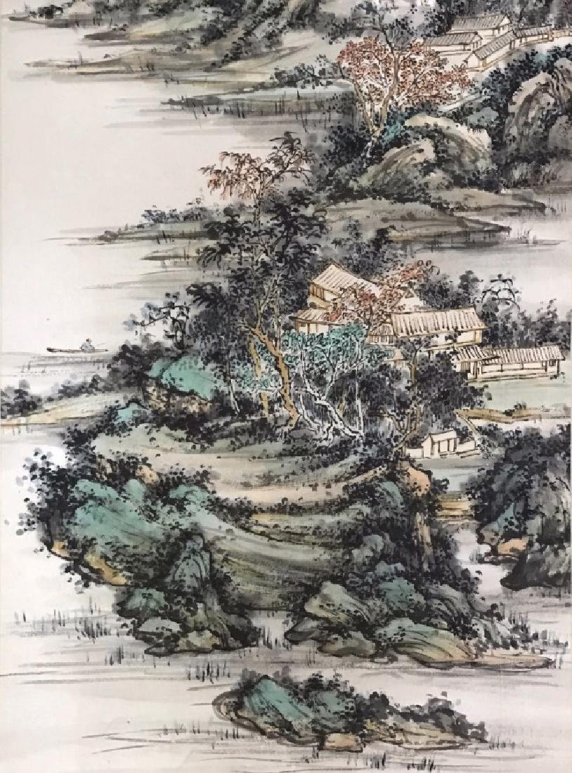 A CHINESE SCROLL PAINTING - 2