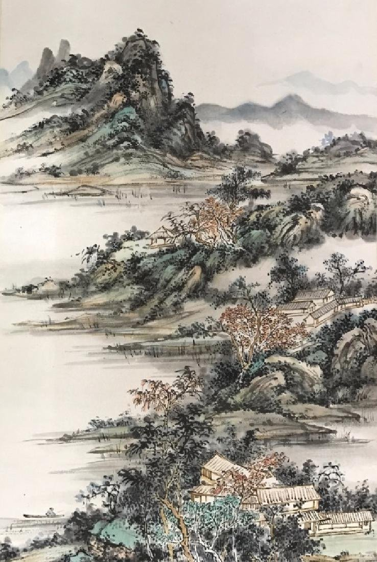A CHINESE SCROLL PAINTING - 3