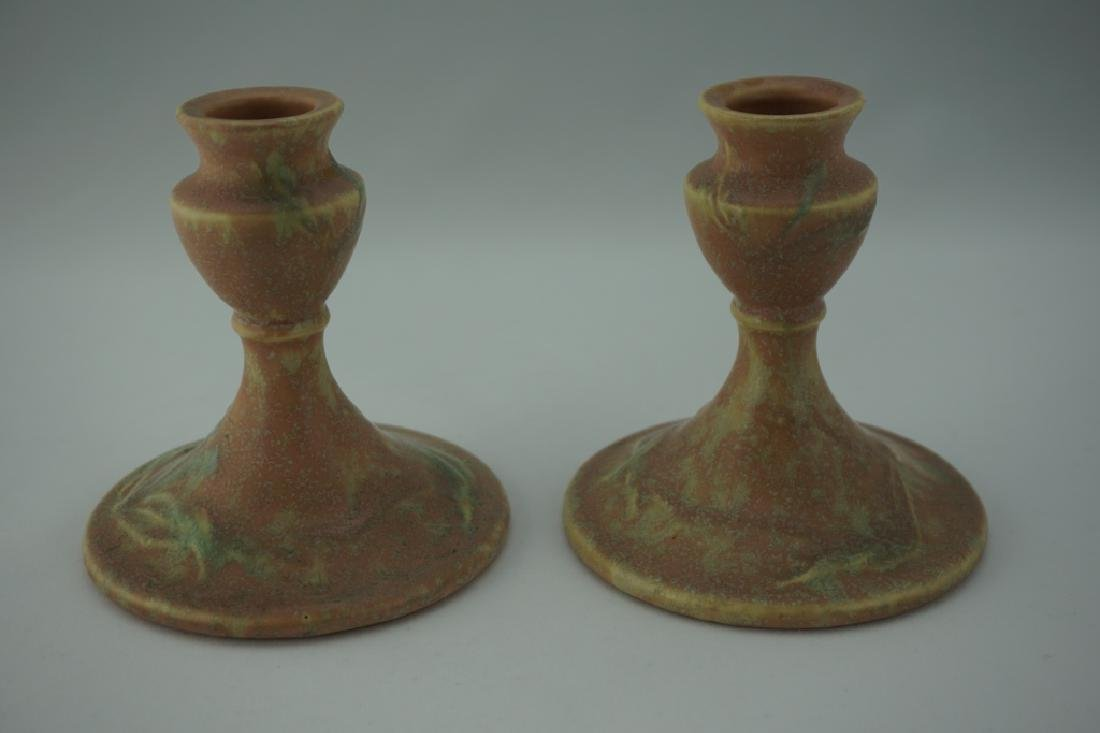 3pcs ROSEVILLE POTTERY CREMONA SET - 2