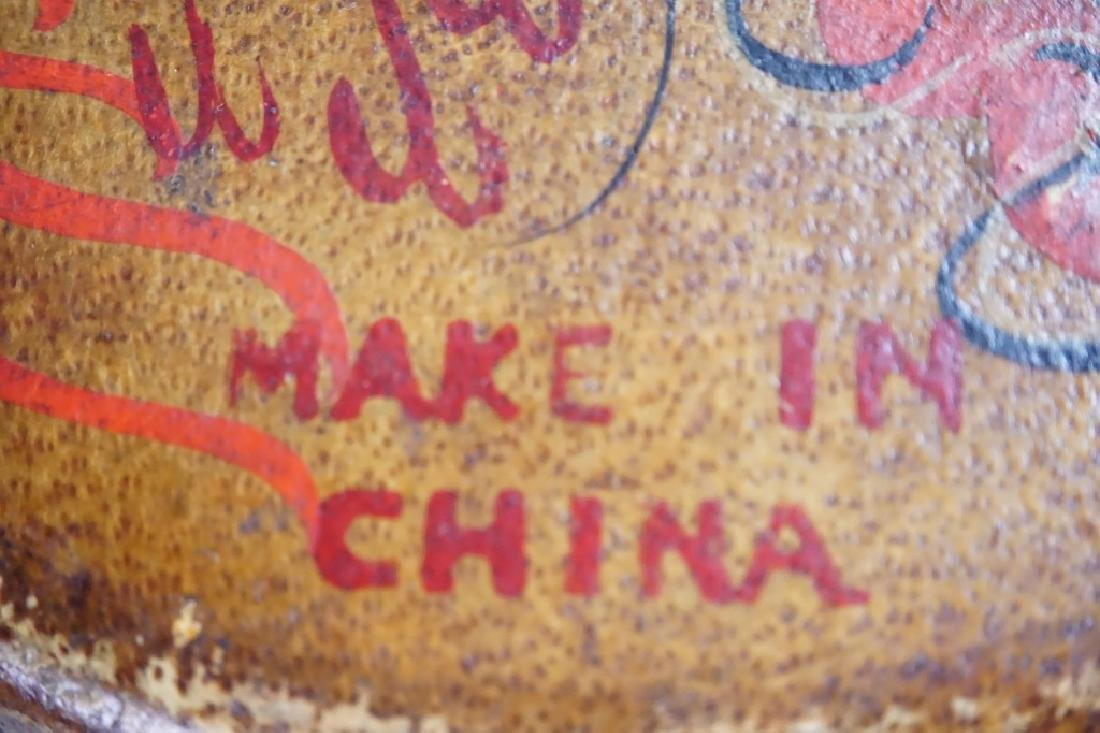ANTIQUE CHINESE HAND DRUM
