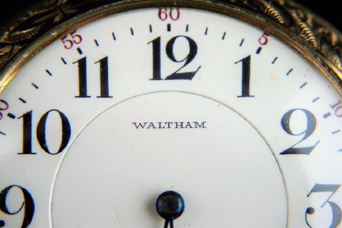 ANTIQUE WATHAM 21 JEWEL VANGUARD POCKETWATCH - 2