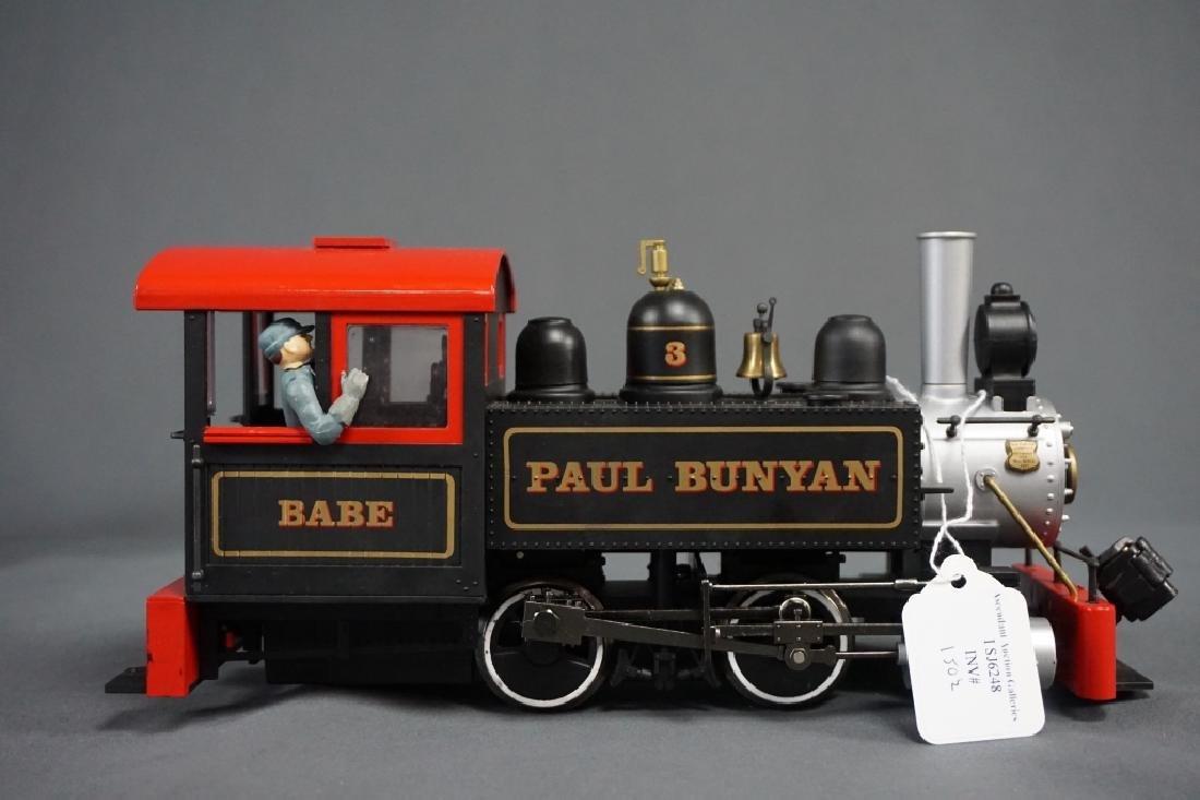 (2) BACHMANN BIG HAULERS CLEMENTINE & PAUL BUNYON - 2