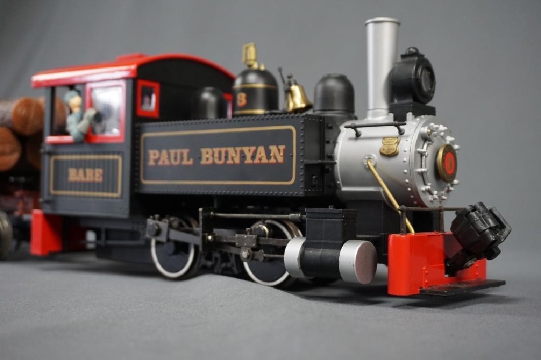 (2) BACHMANN BIG HAULERS CLEMENTINE & PAUL BUNYON - 9