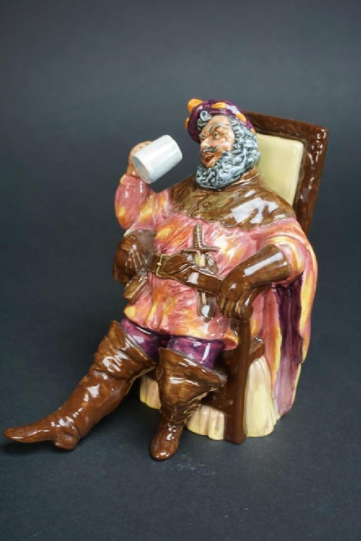 ROYAL DOULTON FIGURINE HN# 2162 THE FOAMING QUART