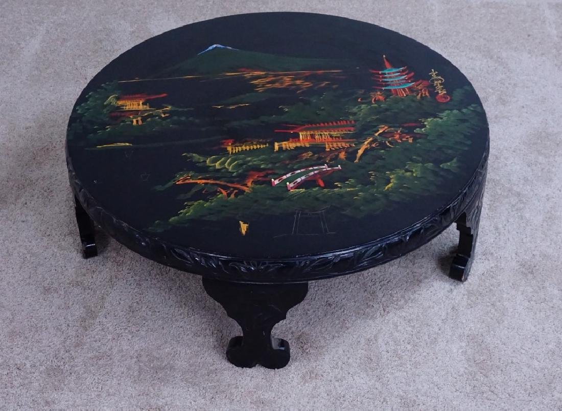 VINTAGE ORIENTAL LACQUER COFFEE TABLE