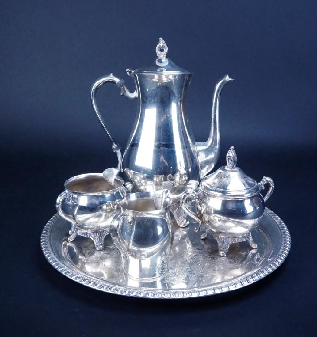 19pcs ASSORTED SILVER PLATE