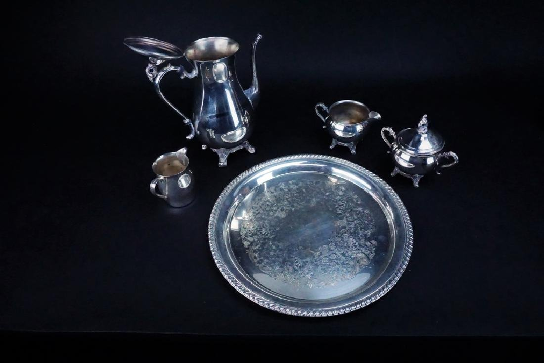 19pcs ASSORTED SILVER PLATE - 2