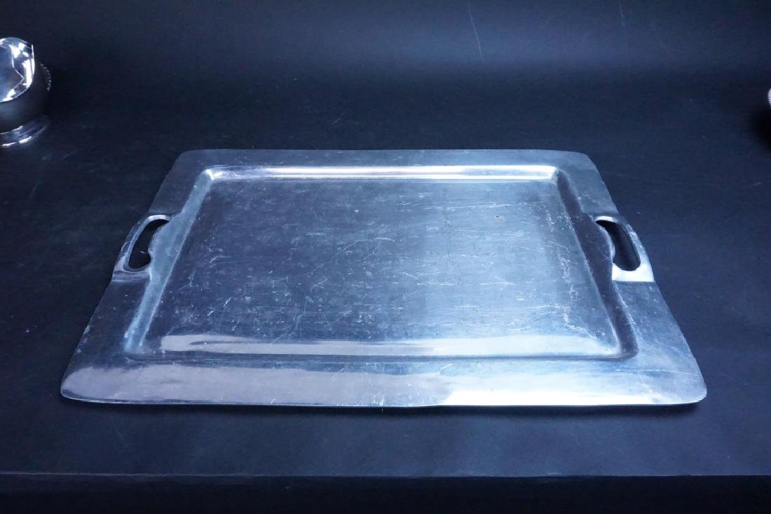 11pcs ASSORTED SILVERPLATE SERVING DISHES - 5
