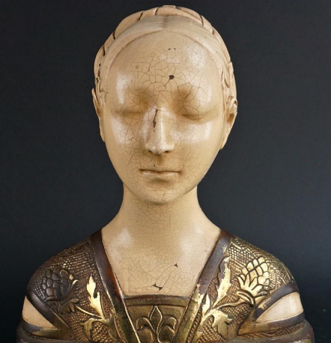 19TH CENTURY FLORENTINE TERRA COTTA BUST