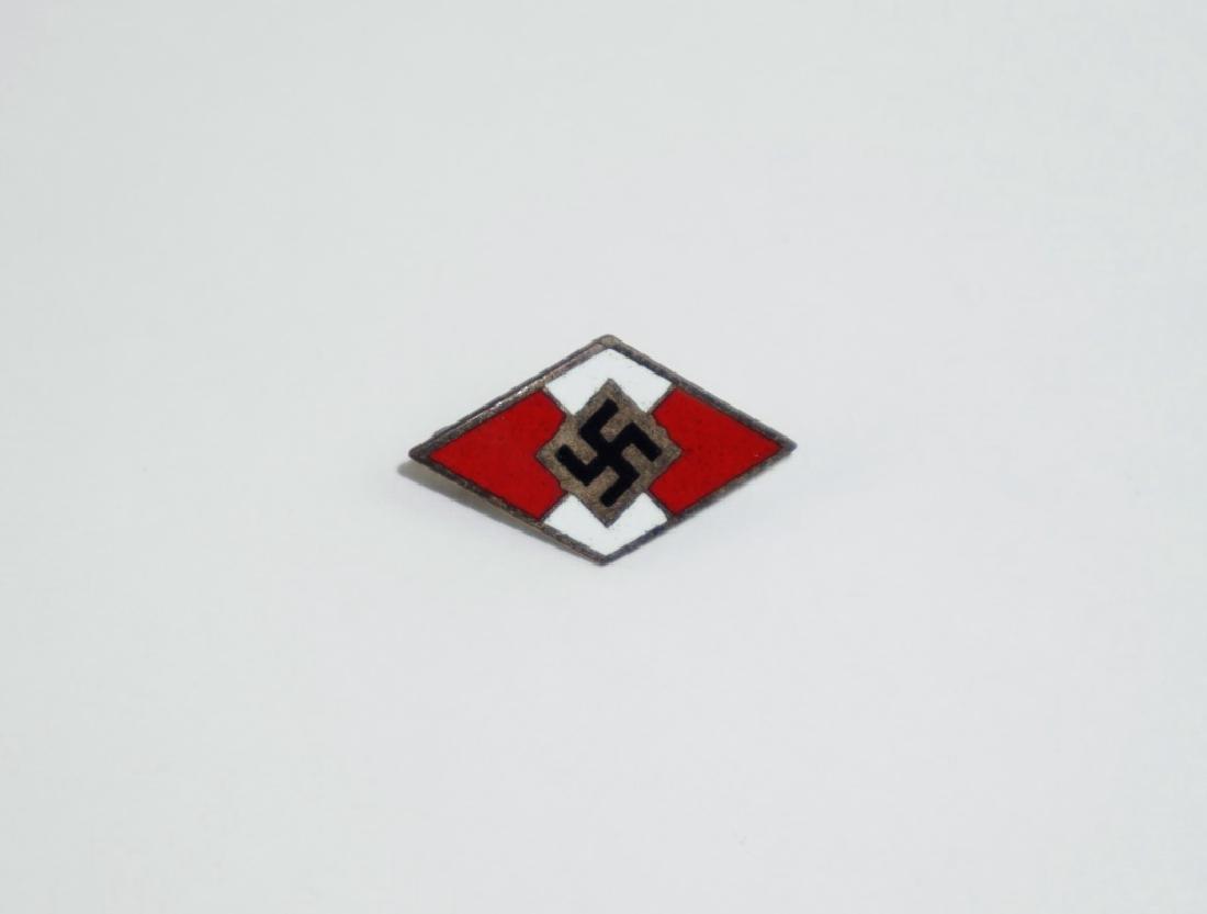 WWII GERMAN HITLER YOUTH PIN