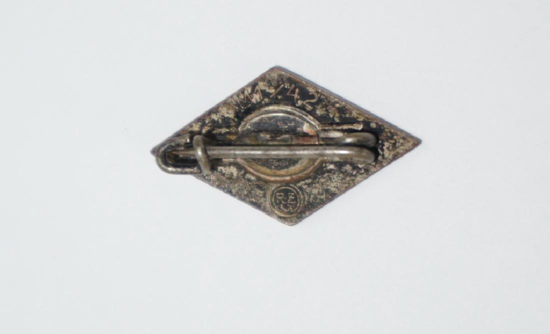WWII GERMAN HITLER YOUTH PIN - 2
