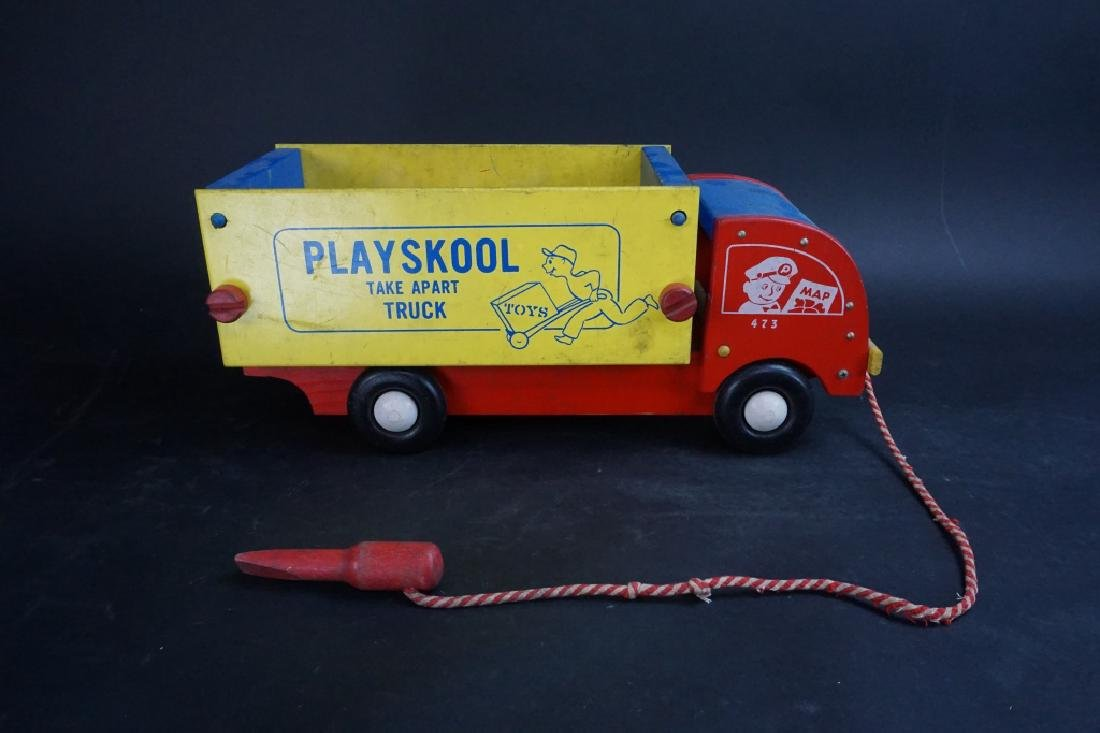 1950'S PLAYSKOOL TAKE APART TRUCK